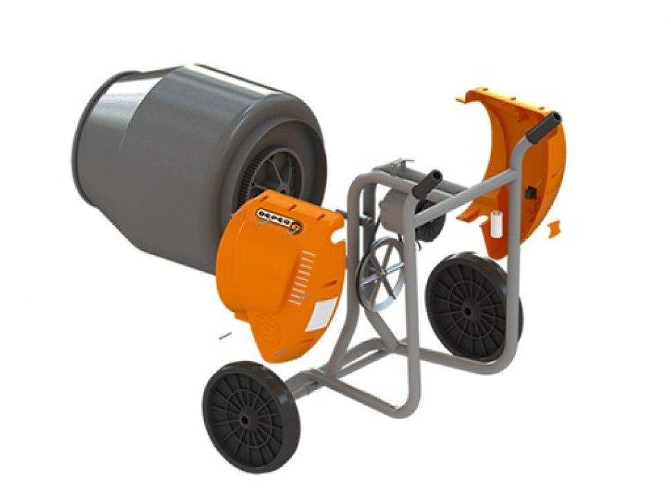 Hormigonera deper compacta 130 lts motor 1 2 hp - Precio de hormigoneras ...